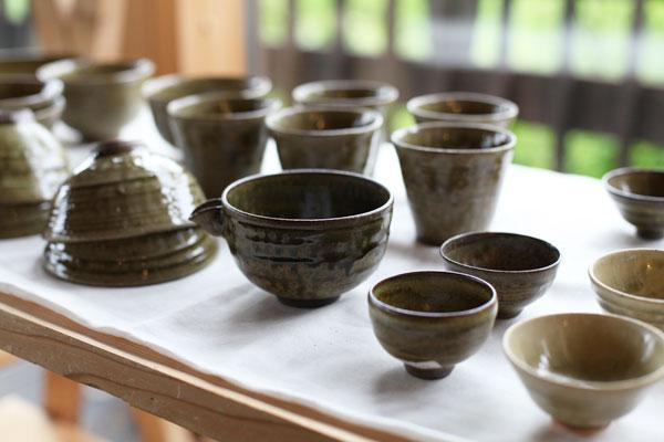 岩村吉景作・陶器